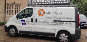 Cheadle Floors New van