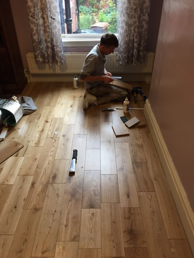 Flooring Installation by Cheadle Floors