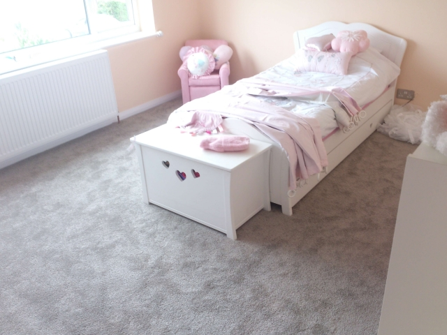 Bedroom Carpet Fitting by Cheadle Floors