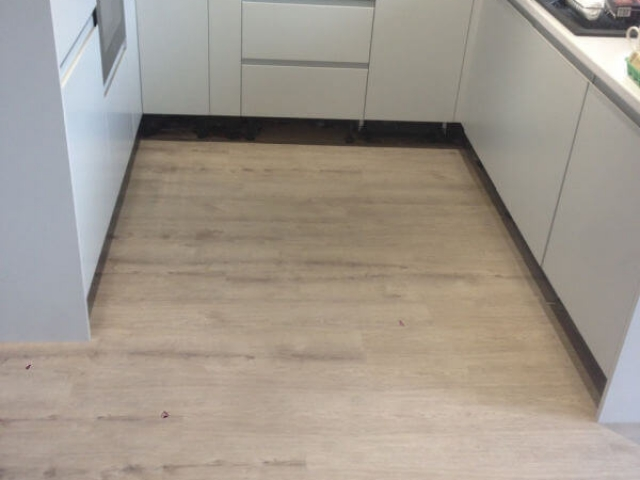 New vinyl floor in Offerton installed by Cheadle Floors
