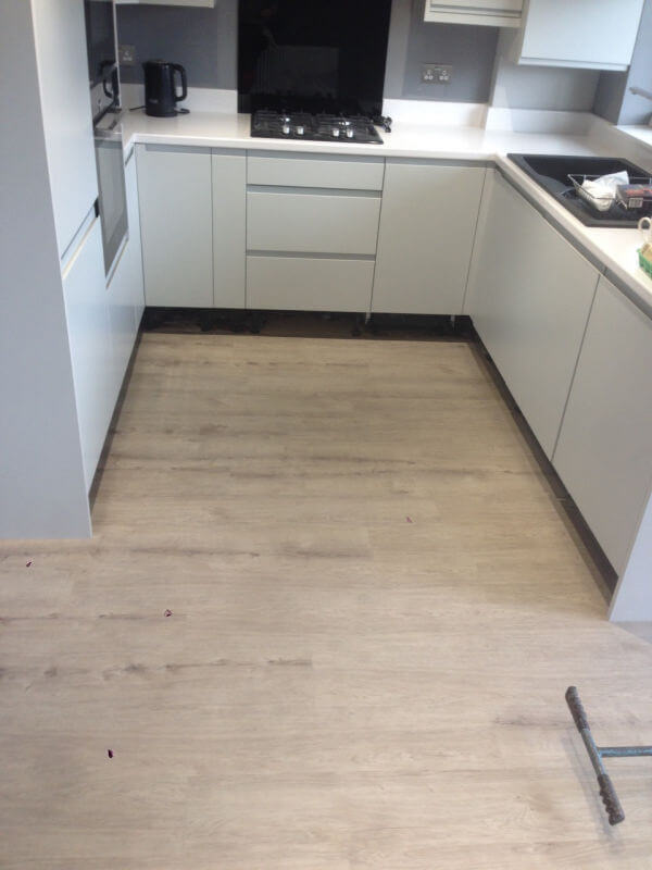 New Vinyl Floor In Offertoncheadle Floors Floor Layer