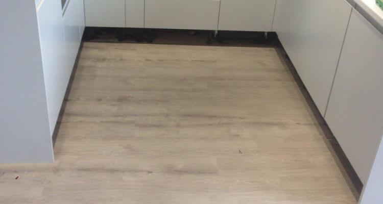 New vinyl floor in Offerton