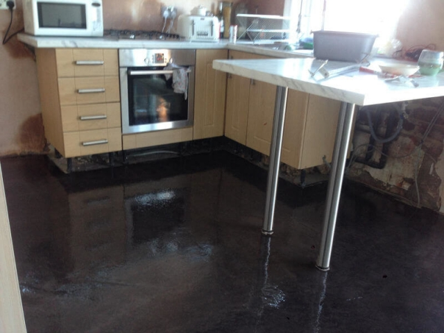 New Kitchen Floor Installed in Bramhall