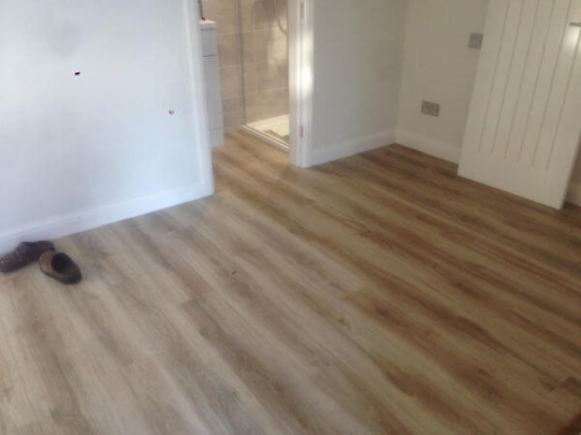 Stunning Luxury Vinyl Floor fitted in Alderley Edge