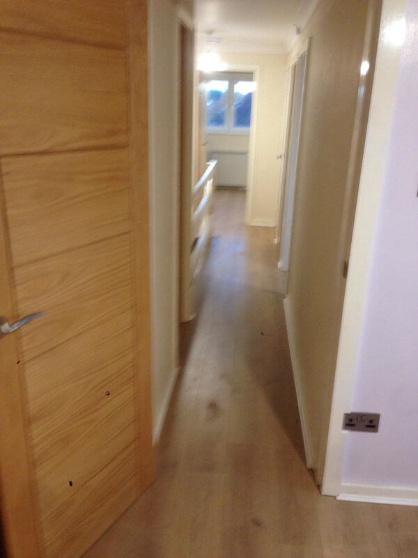 Laminate Floors Fitted In Cheadle Hulme Maisonette