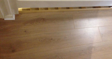Laminate Floors Fitted in Cheadle Hulme Maisonette