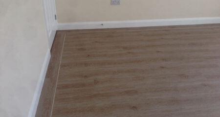 Luxury vinyl tile floor fitter in Poynton