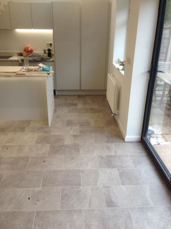 New Karndean Kitchen And Dining Room Floor