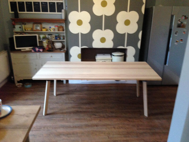 New Luxury Vinyl Tiles Kitchen And Dining Room Floor