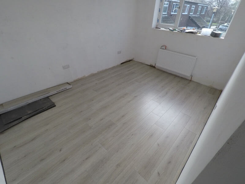 New Laminate Floor In Stockport Recently Installed