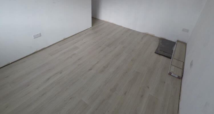 New laminate floor in Stockport