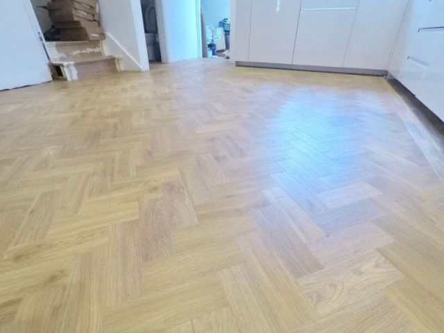Amtico Floor fitted in Marple Stockport
