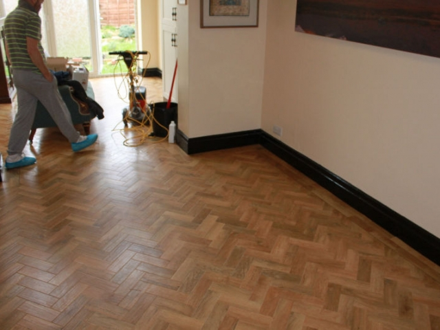 Karndean Parquet Floor Fitted in Manchester