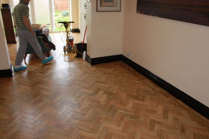 Karndean Parquet Floor Fitted in Manchester