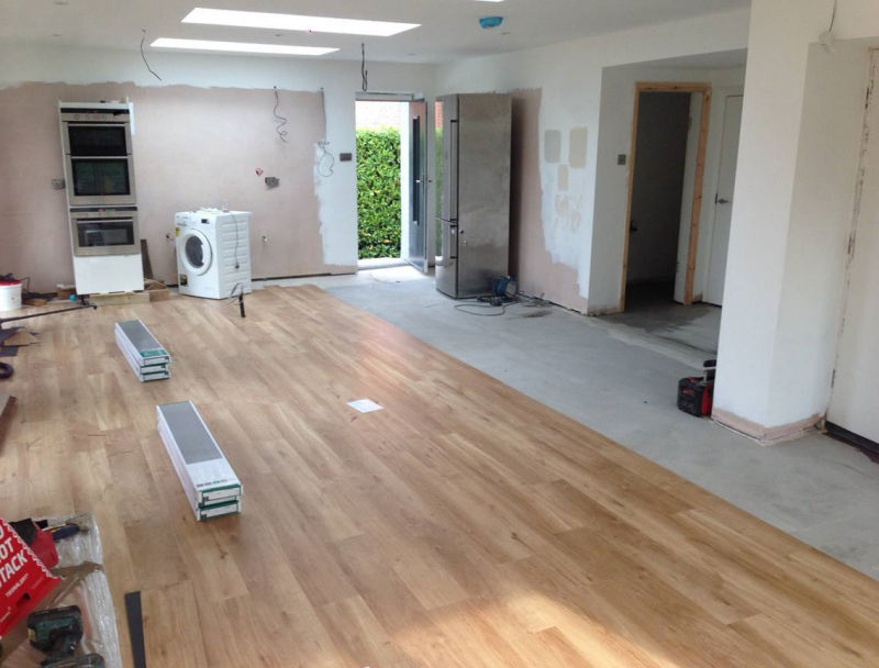 Karndean Van Gogh French Oak installed by Cheadle Floors