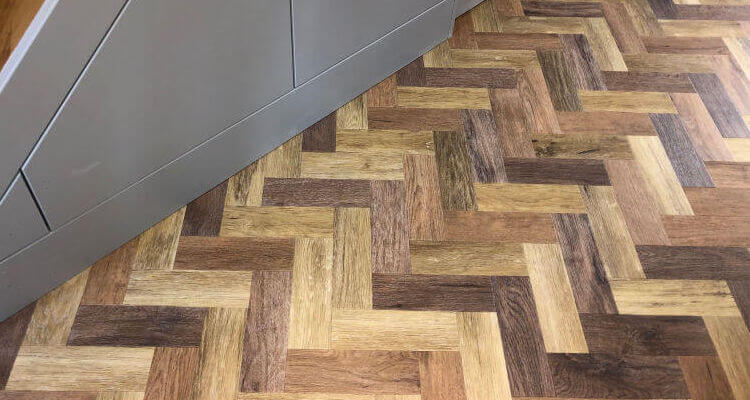 New Amtico flooring Prestbury