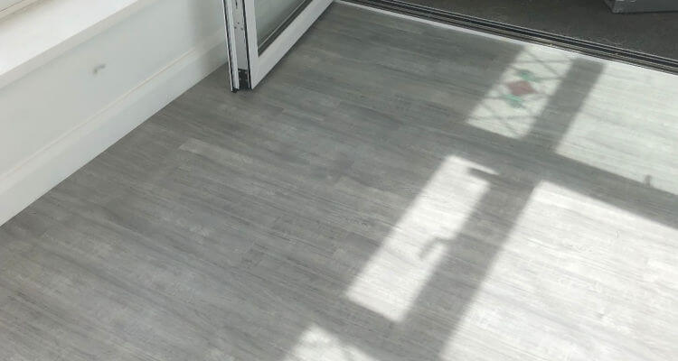 Stunning LVT Flooring Fitted in the Conservatory and Kitchen