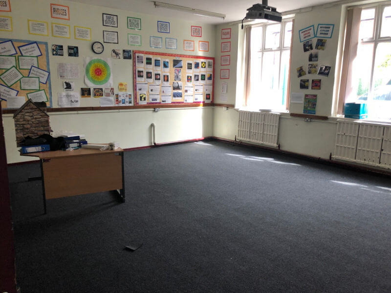 New Flooring Fitted in Stockport High School