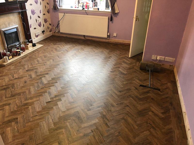 New flooring in Sale Manchester