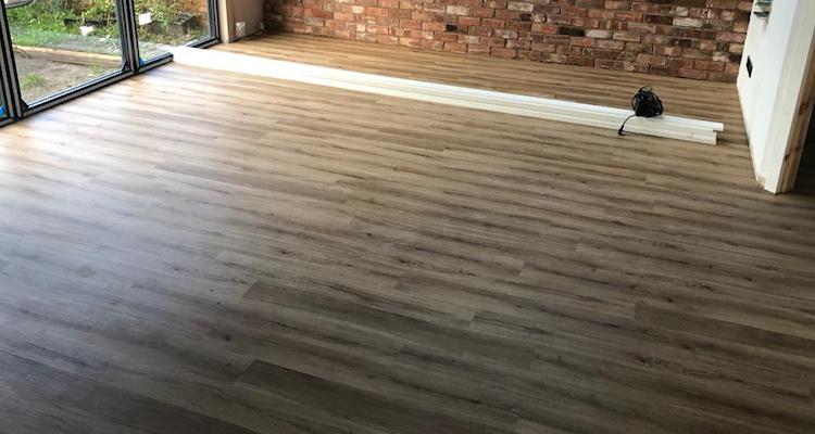 Oak Effect New Flooring in Chorlton Fitted