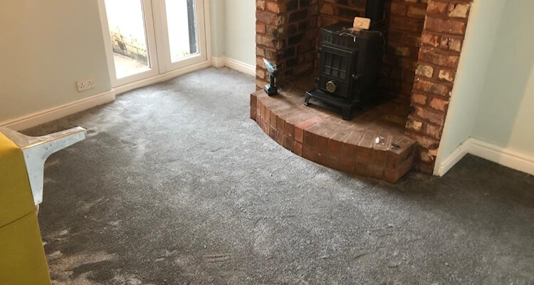 Invictus carpet fitted to a lounge Edgeley