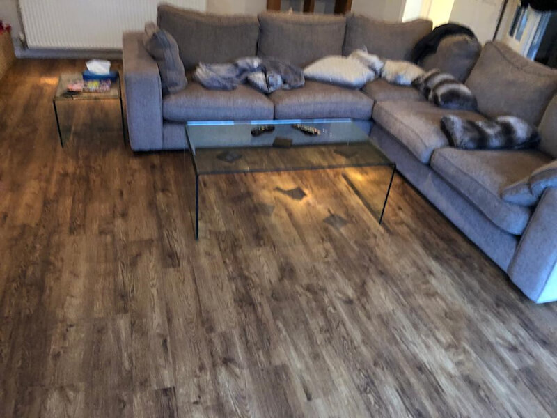 New luxury vinyl tiles flooring - Polyflor Camaro Salvaged Vintage Timber