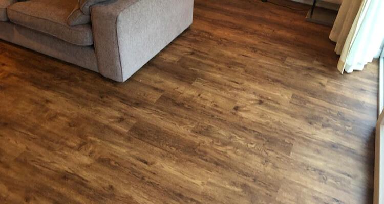 New floor - Polyflor Camaro Salvaged Vintage Timber