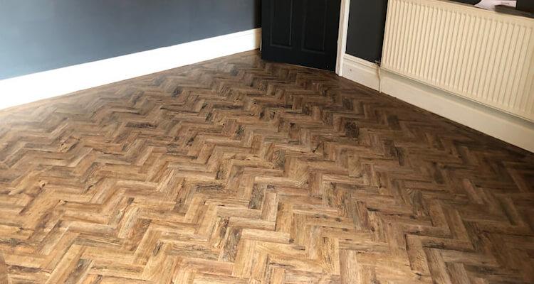 New parquet flooring Chorlton