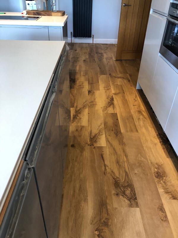 Karndean De Vinci Natural oak supplied and fitted
