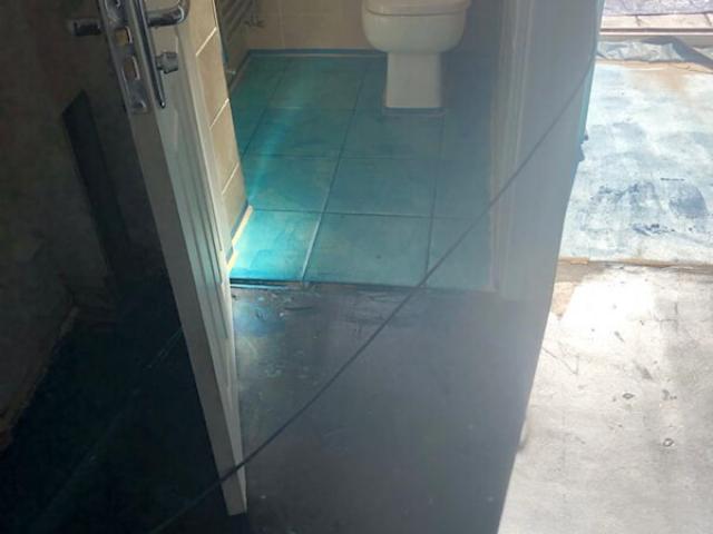 Floor preparation for luxury vinyl tiles