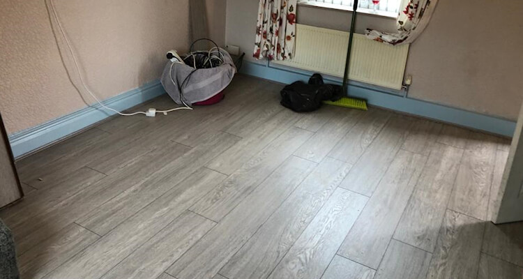 New Laminate Flooring Installed in Marple Bridge