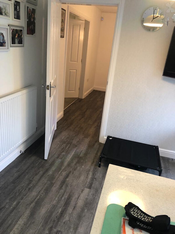 New Amtico flooring in Marple