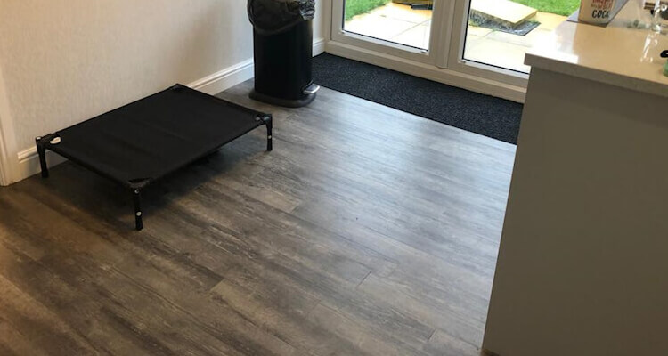 New Amtico flooring Marple