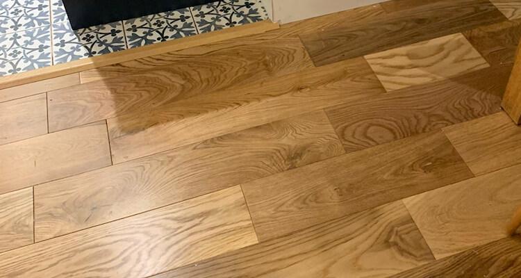 Wood flooring Woodley
