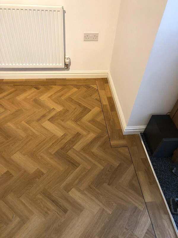 New Amtico floor fitted by Cheadle Floors