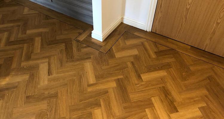 New Amtico floor